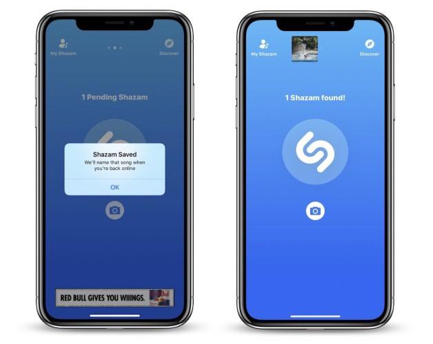 Shazam offline