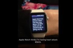 El Apple Watch alerta a un buen número de fans del riesgo de ataque al corazón durante un partido de la NFL