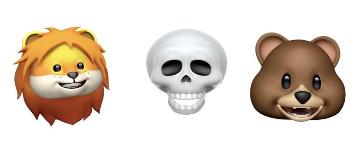 iOS 11.3 animoji