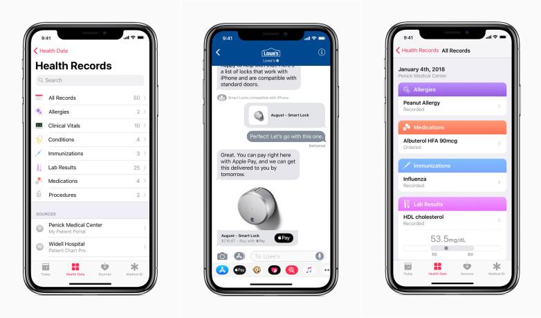 Un vistazo a iOS 11.3 (II): Rendimiento de la batería, Registros de Salud y muchas más cosas