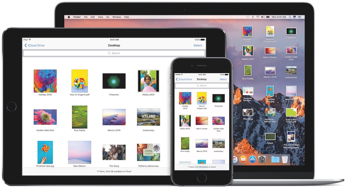 iOS en Mac