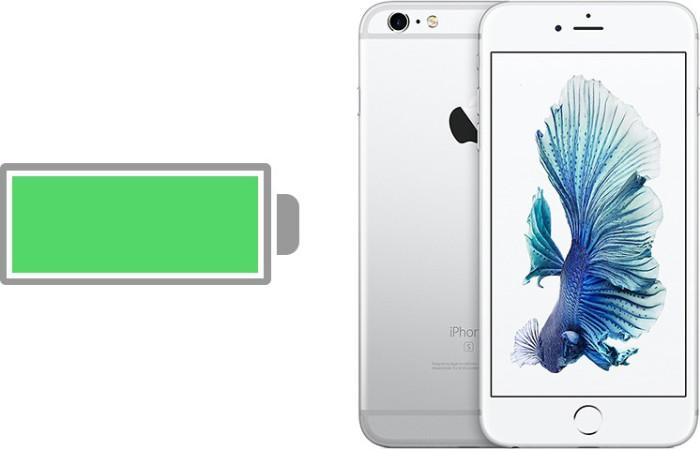 iPhone seis batería