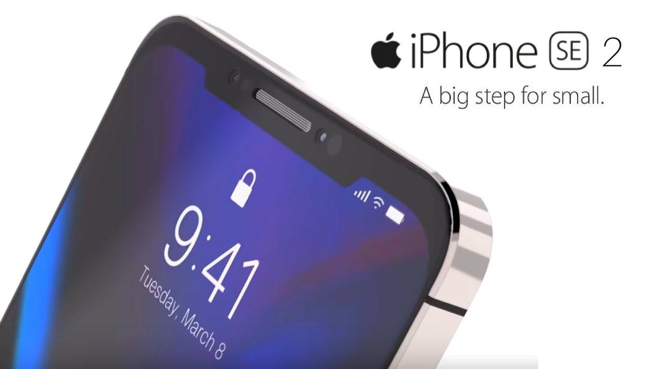 iPhone SE dos mockup