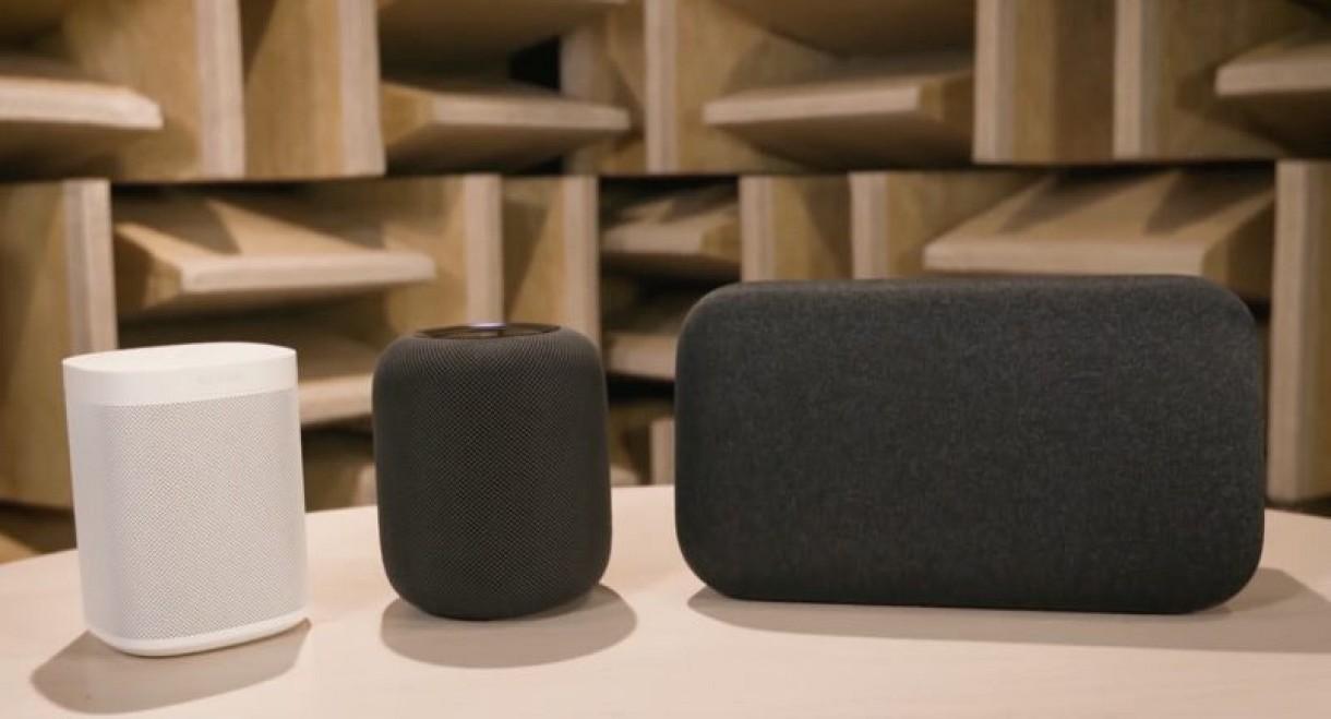 El HomePod, por detrás de Google Home Max y Sonos One en calidad de sonido
