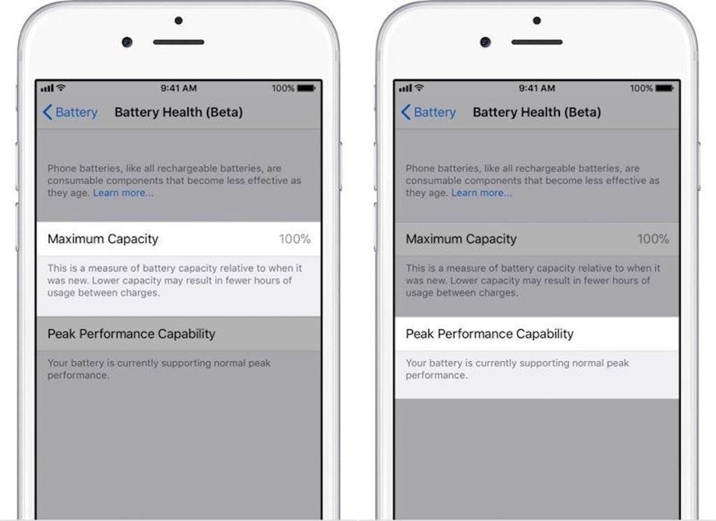 La nueva Beta de iOS 11.3 incluye por fin una opción de gestión de la salud de la batería