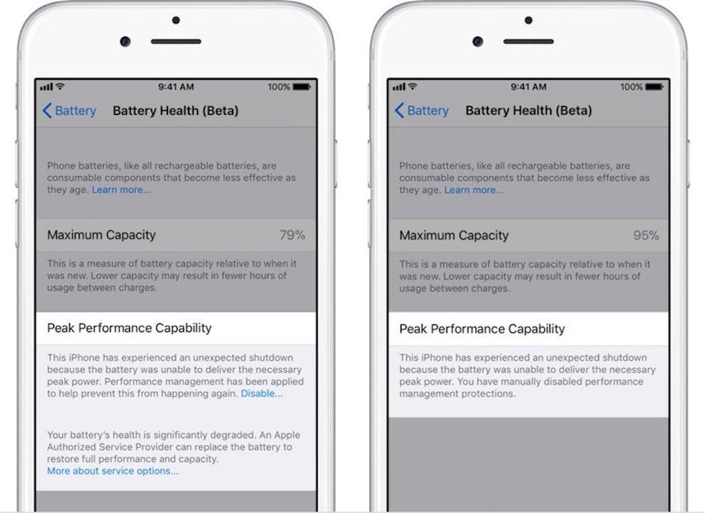 bateria iOS® 11.3_Beta2