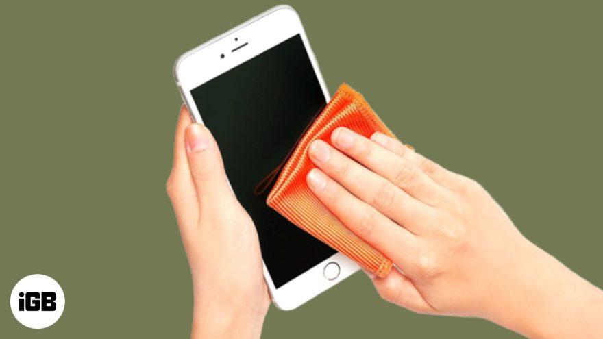 Limpiar Iphone 2