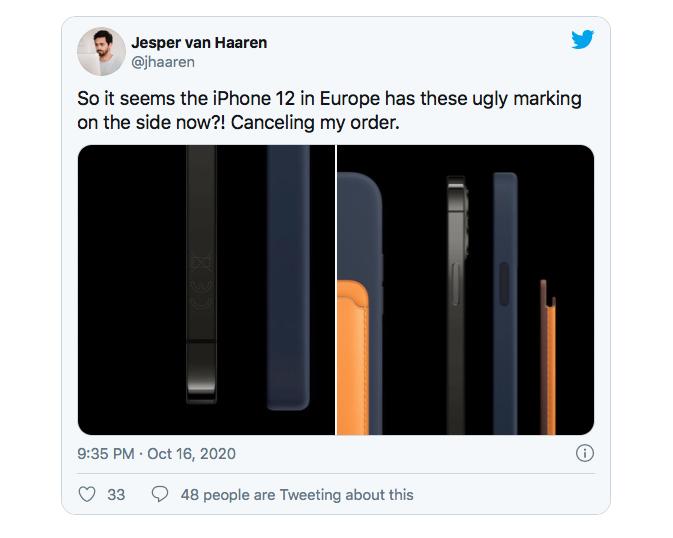Iphone Europa Ce 3