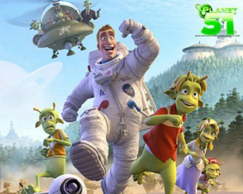 Planet 51: cine para toda la familia