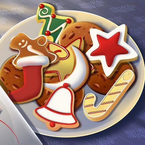 Taller de galletas de Navidad para padres e hijos