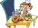 El niño en la cocina: algo más que un chef
