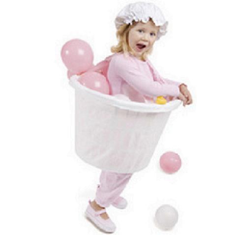 Carnaval: Divertido disfraz casero de baño burbujeante