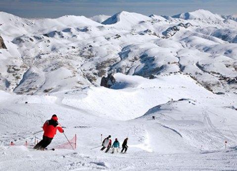 disfrutar de la nieve de asturias con los niños