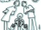 Explicar a los niños la separación de los padres