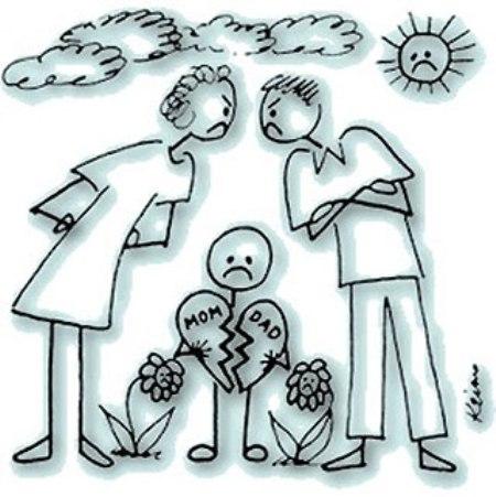 explicar a los niños la separacion de los padres