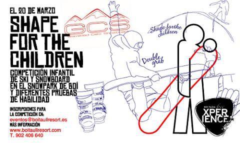 Shape for the children: Competición infantil de esquí y snowboard en Boí Taüll