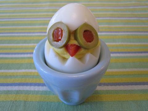 Receta para niños: Pollitos en el cascarón