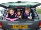 En caso de accidente los padres pueden ser acusados si los niños no llevaban cinturón