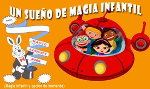 un sueño de magia infantil: espectaculo y merienda para toda la familia