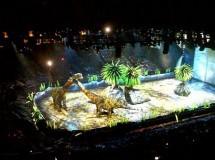 Caminando entre dinosaurios, un espectáculo impactante para los peques