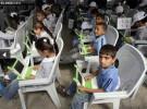 La ONU envía ordenadores para los niños refugiados de Gaza