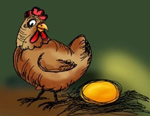 poesia infantil la gallina de los huevos de oro