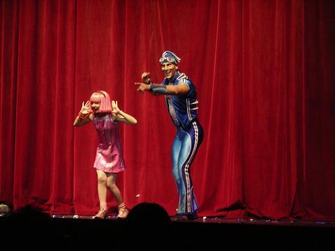 El show de Lazy Town llega a España