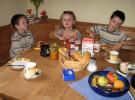 La importancia del desayuno en los niños