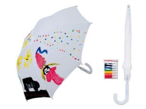 paraguas infantil para pintar
