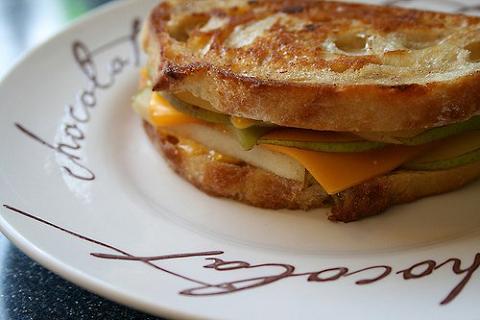 Receta para niños: Sandwich de pera