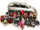 Los taxistas ven inviable llevar sistemas de retención infantil