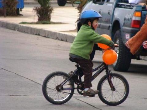 aprender a montar en bicicleta II