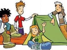 Distintos campamentos de verano para niños