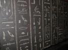 Despierta su pasión por Egipto y los jeroglíficos escribiendo su nombre