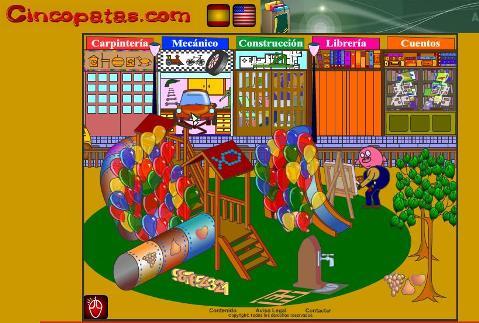 cincopatas.com juegos para los mas pequeños