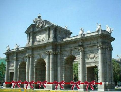 Decora la Puerta de Alcalá con Mensajeros de la Paz