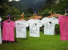 Manualidades con niños: Pintar camisetas