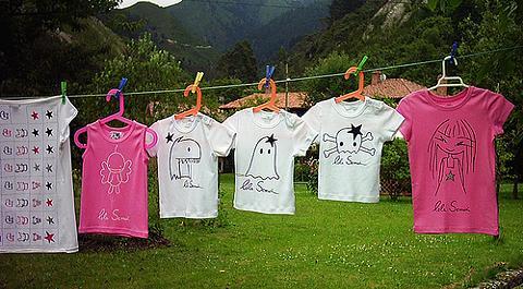 Manualidades con ni os pintar camisetas - Pintar camisetas ninos ...