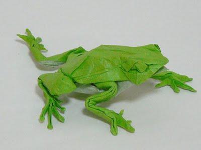 Manualidades: Cómo hacer una rana de papiroflexia