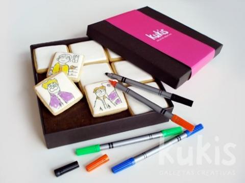 Manualidades o regalo: galletas para pintar
