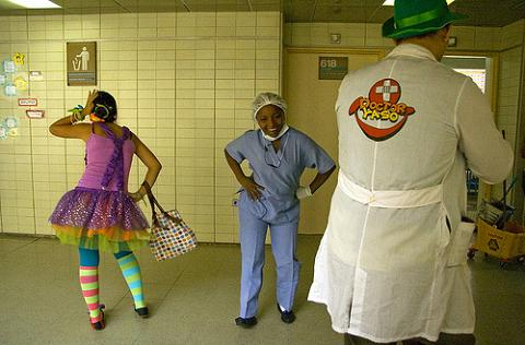 Ocio veraniego para los niños hospitalizados