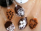 Receta para niños: Cucharas de chocolate