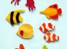 Manualidades con niños: Un divertido acuario de fieltro