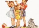 El crecimiento y los estirones en los niños