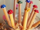 Manualidades con niños: Lápices decorados