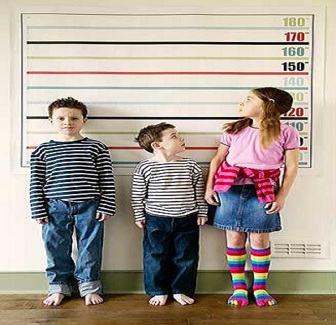 Como calcular como será de alto tu hijo