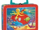 Manualidades con niños: Caja de actividades de viaje