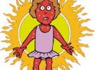 Pitiriasis alba: manchas blancas en la piel de los niños