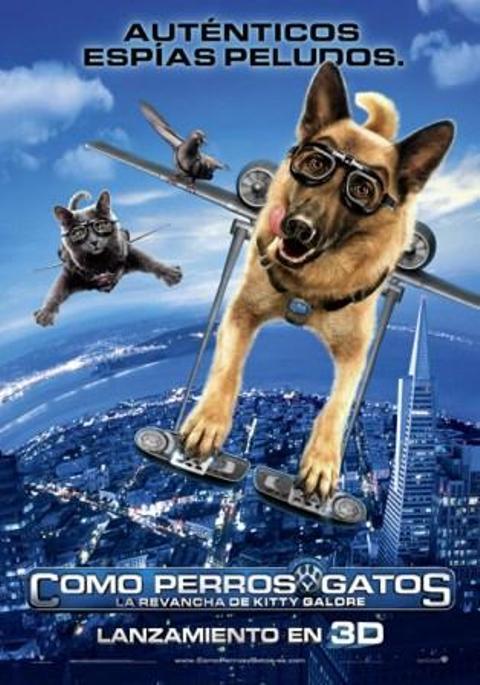 cine familiar: como perros y gatos, la revancha de kitty galore