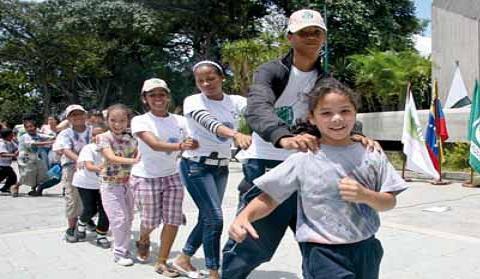 La escuela infantil Madre del Agua inculca valores ecológicos a los niños